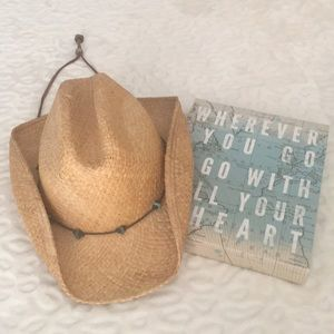 ☀️Scala Cowboy Straw Hat